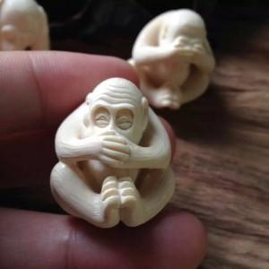 猛犸猴猴,精工雕刻 (1)
