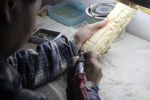 猛犸象牙雕刻工厂 (2)
