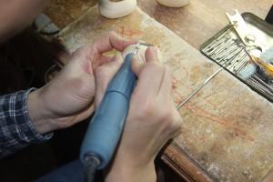 猛犸象牙雕刻工厂 (3)