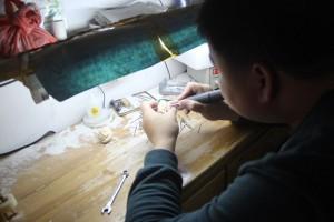 猛犸象牙雕刻工厂 (4)